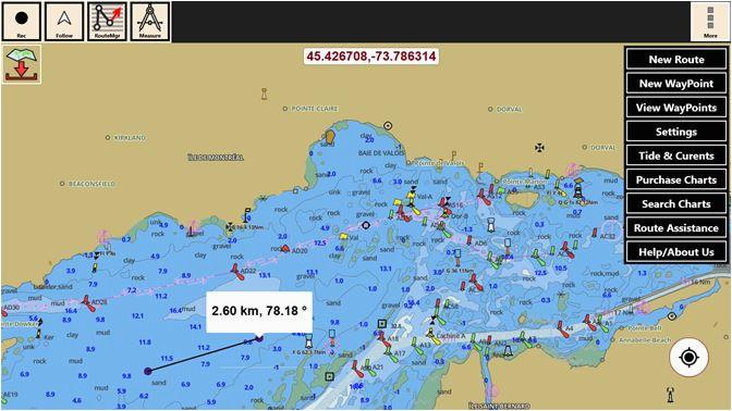 uzyskaj produkt i boating gps nautical marine charts offline