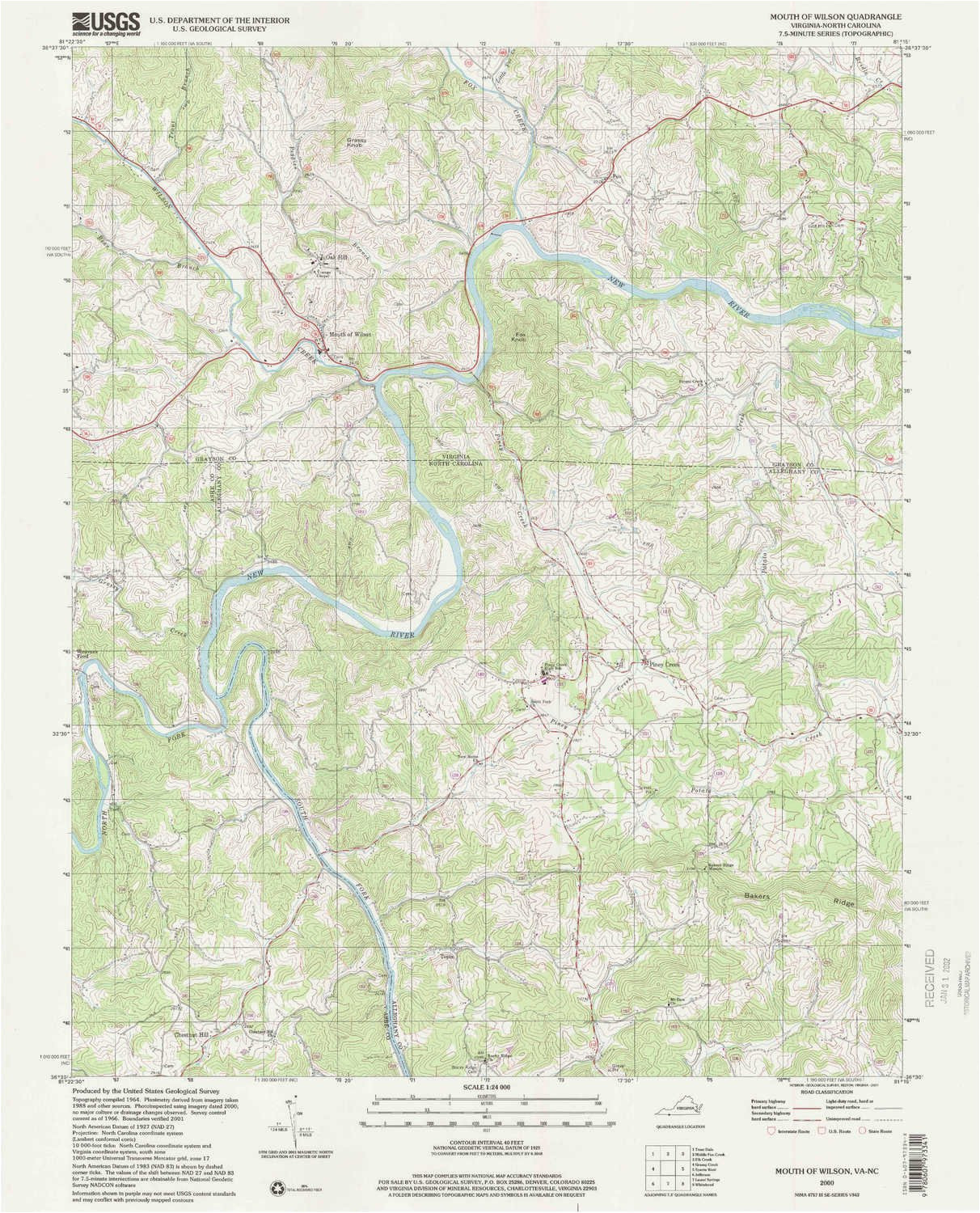 Topographic Map Of north Carolina Amazon Com Yellowmaps ...