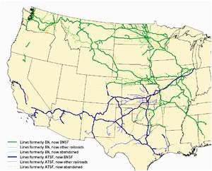 burlington northern railroad wikipedia