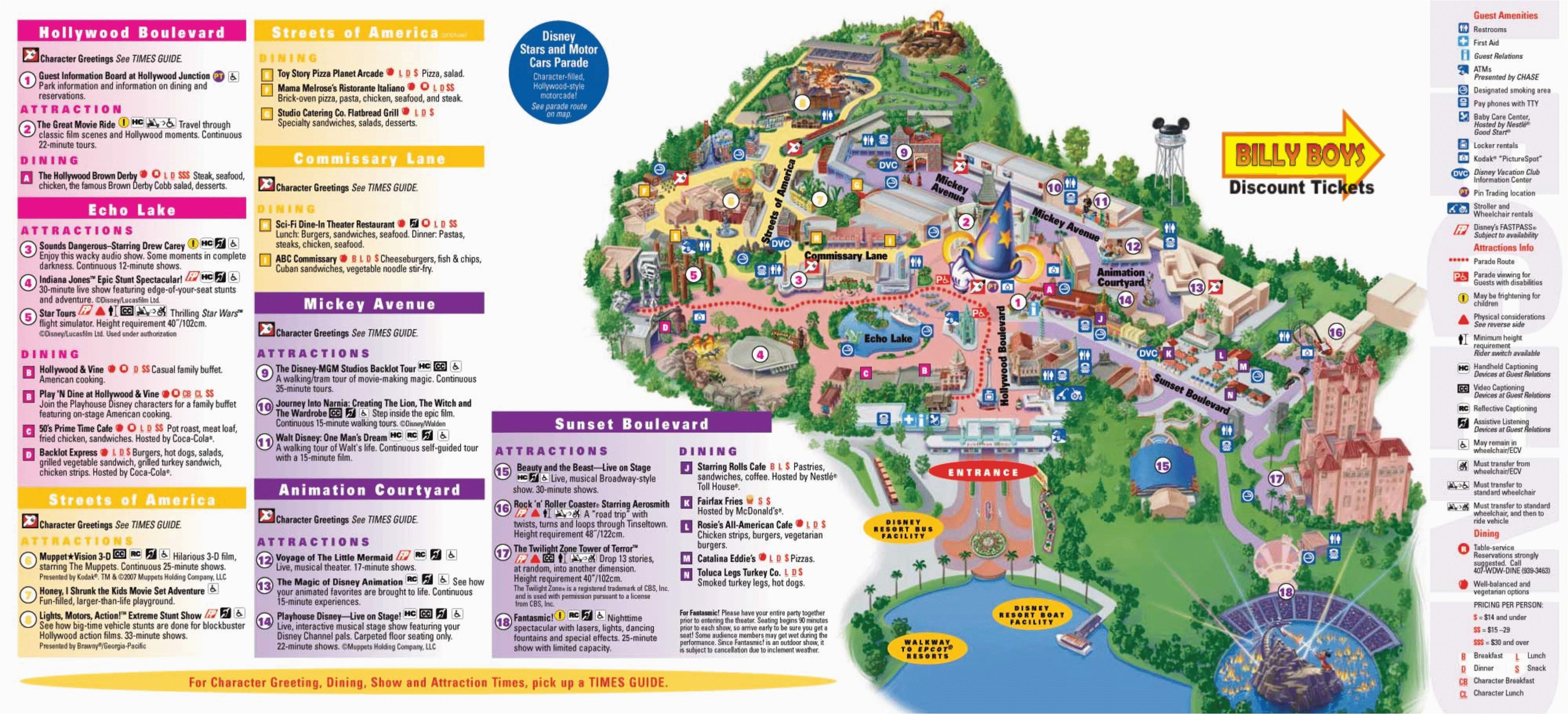 Universal Studios California Map Pdf Universal Studios ...