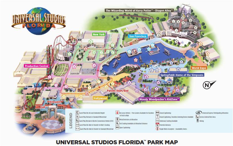 Universal Studios California Park Map Universal Studios California Map Best Of Disney World Vs Universal