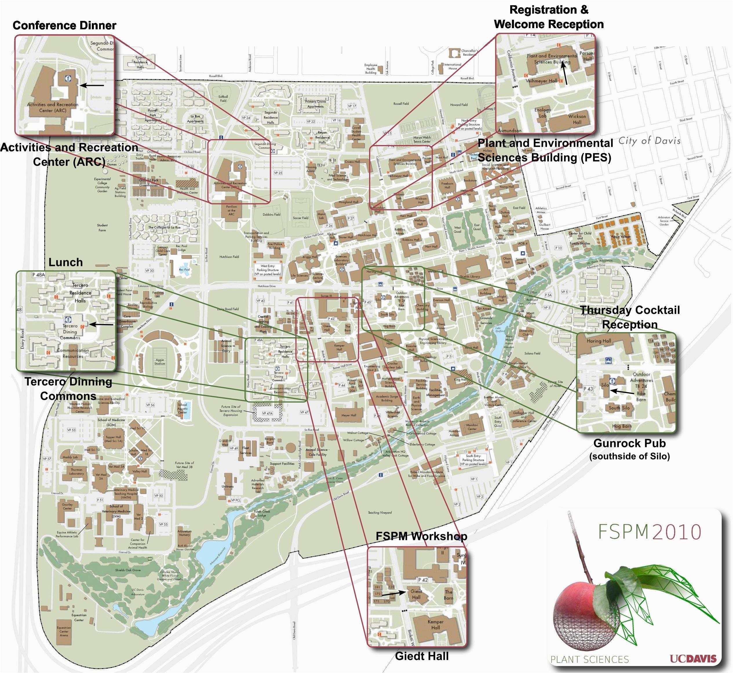 university of california davis map free printable doxie derby 2c uc