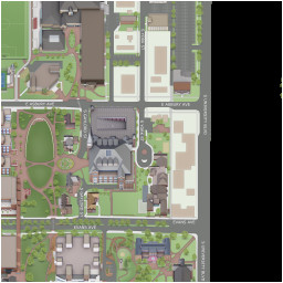 campus maps university of denver