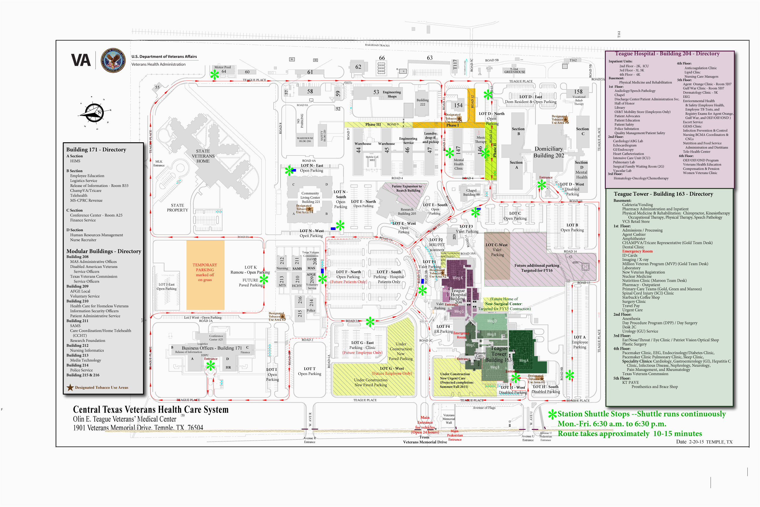 facility maps central texas veterans health care system