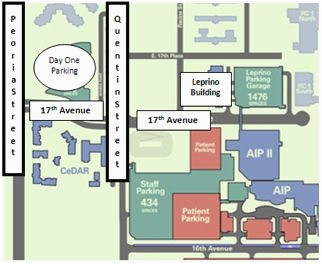 University Of Colorado Hospital Map New Employee Information