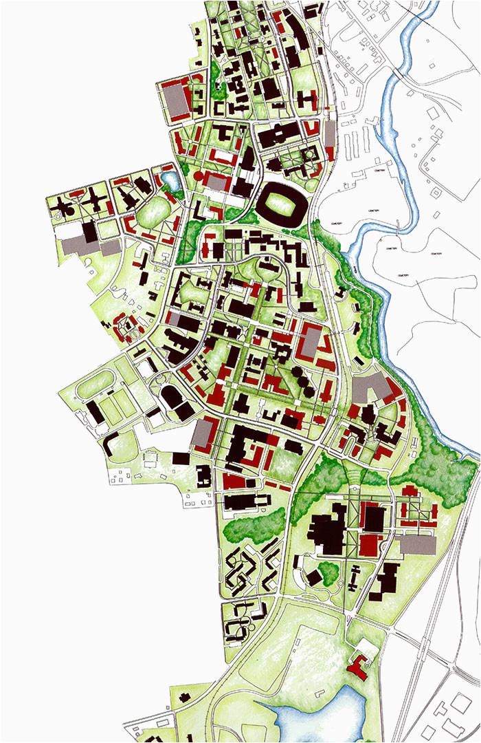 University Of Georgia Campus Map | secretmuseum