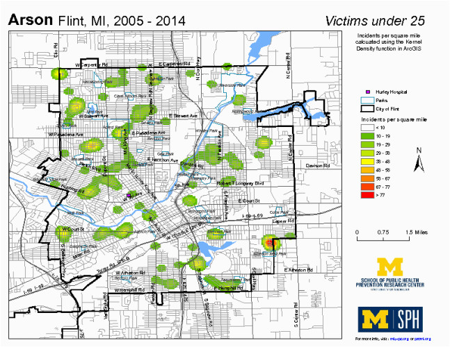 crime map library current data set michigan youth violence