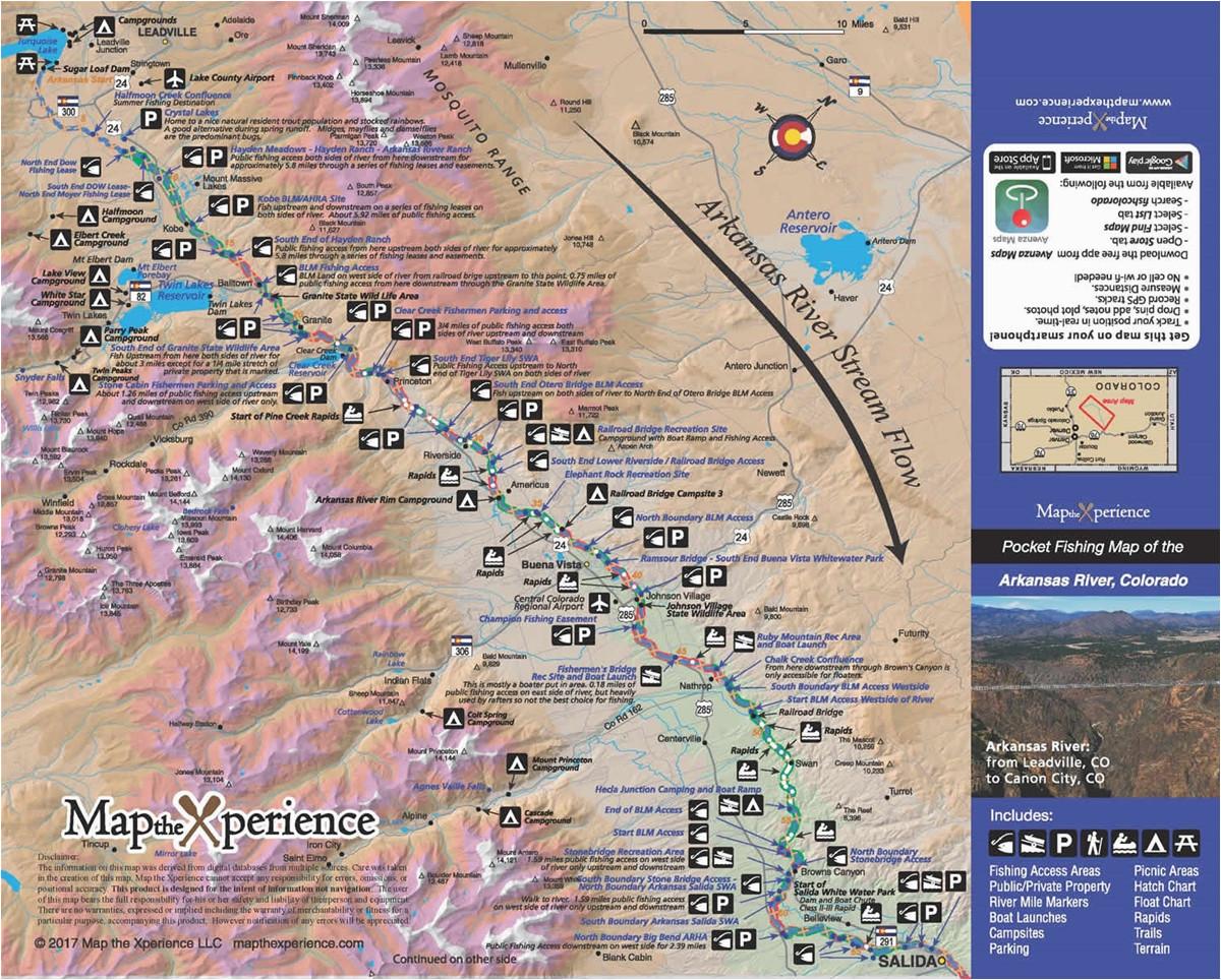colorado fishing map bundle fishing maps fly fishing maps