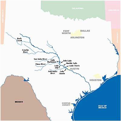 texas colorado river map business ideas 2013
