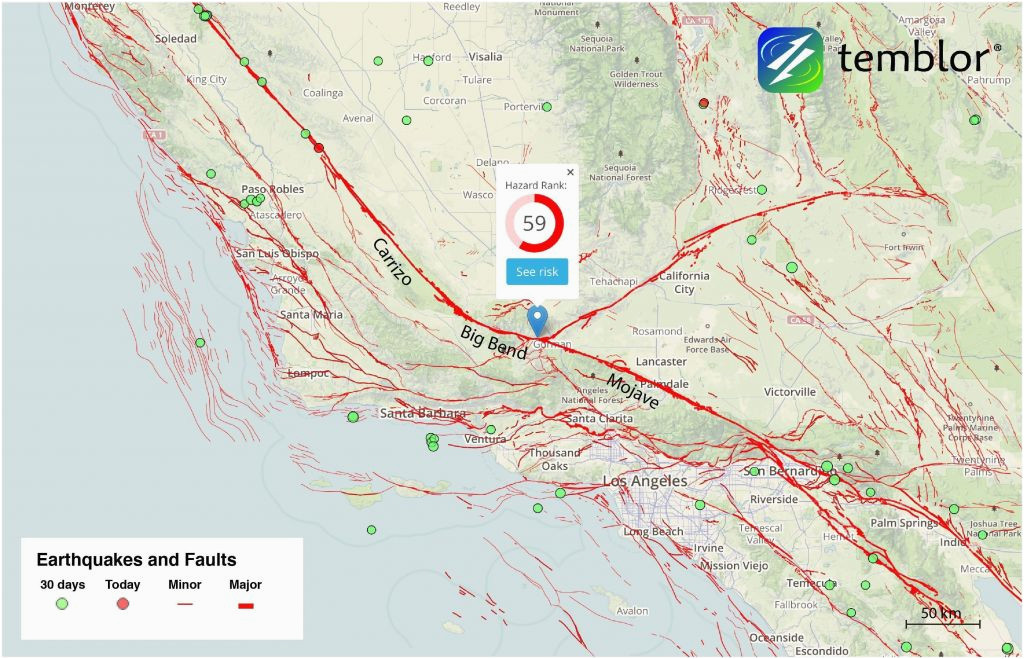usgs earthquake maps california massivegroove com