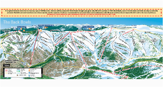 vail ski trail map 2006 07 vail co mappery cool ideas 33282
