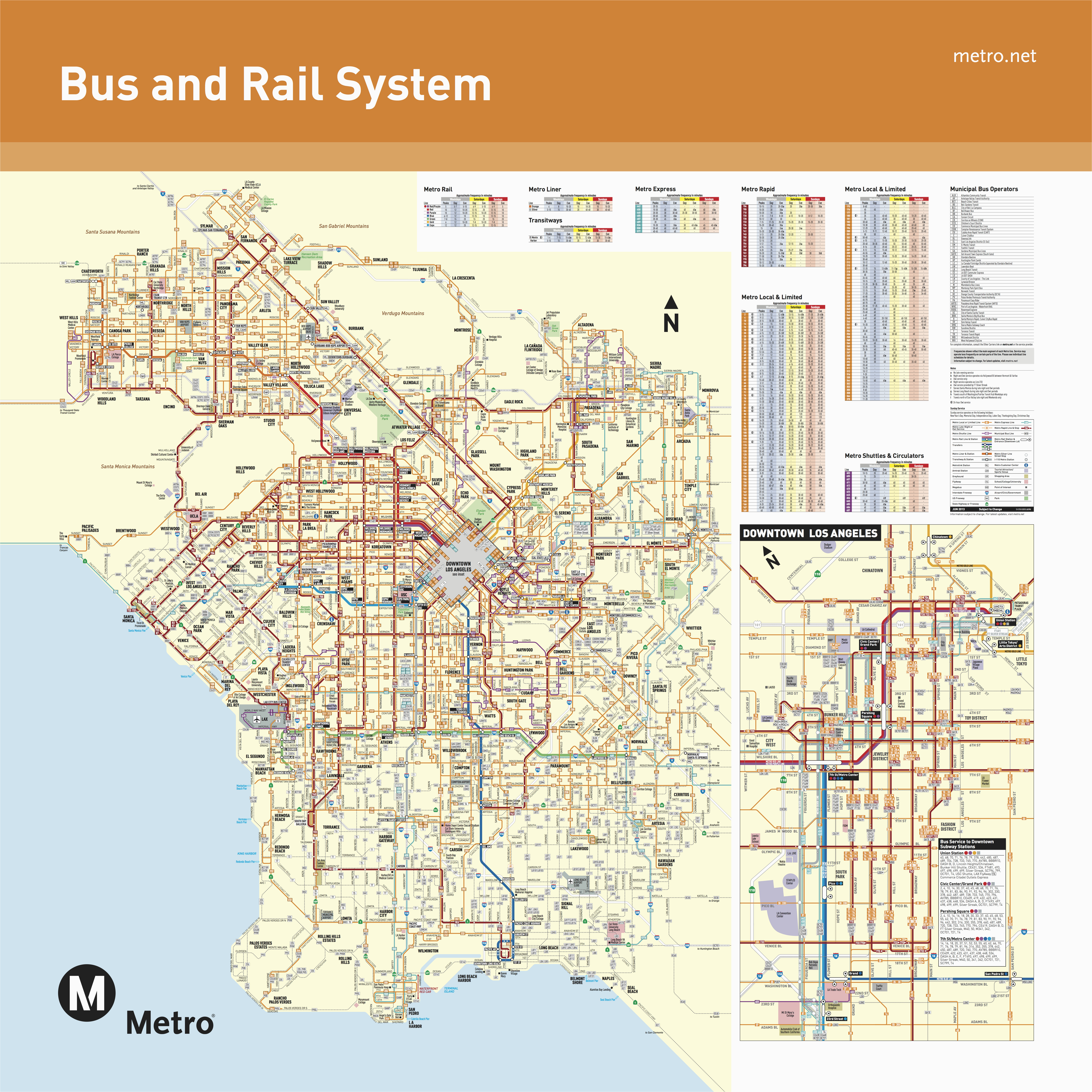 june 2016 bus and rail system maps