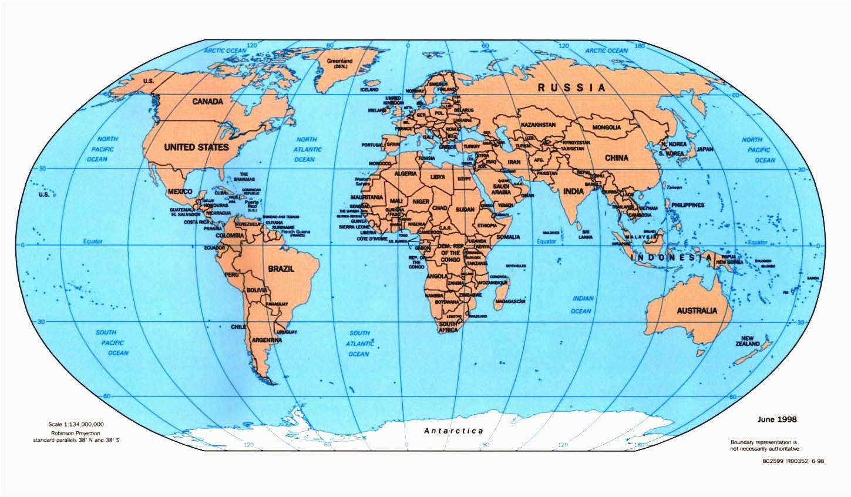 world map bodies of water maps arctic circle worldmap teaching