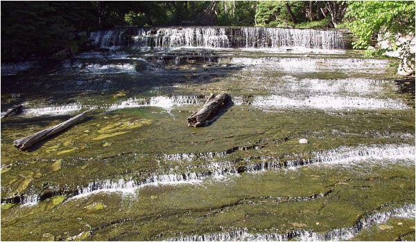 au train michigan map au train waterfall alger county michigan