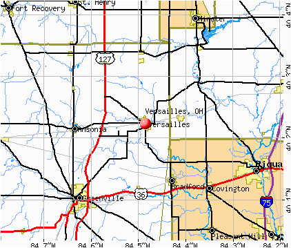 versailles ohio oh 45380 profile population maps real estate