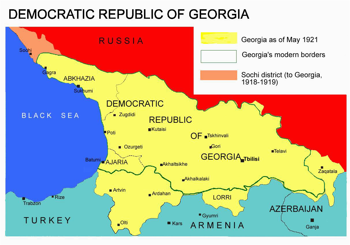 Where Is The Country Of Georgia Located On A Map.Where Is The Country Of Georgia Located On A Map Sochi Conflict