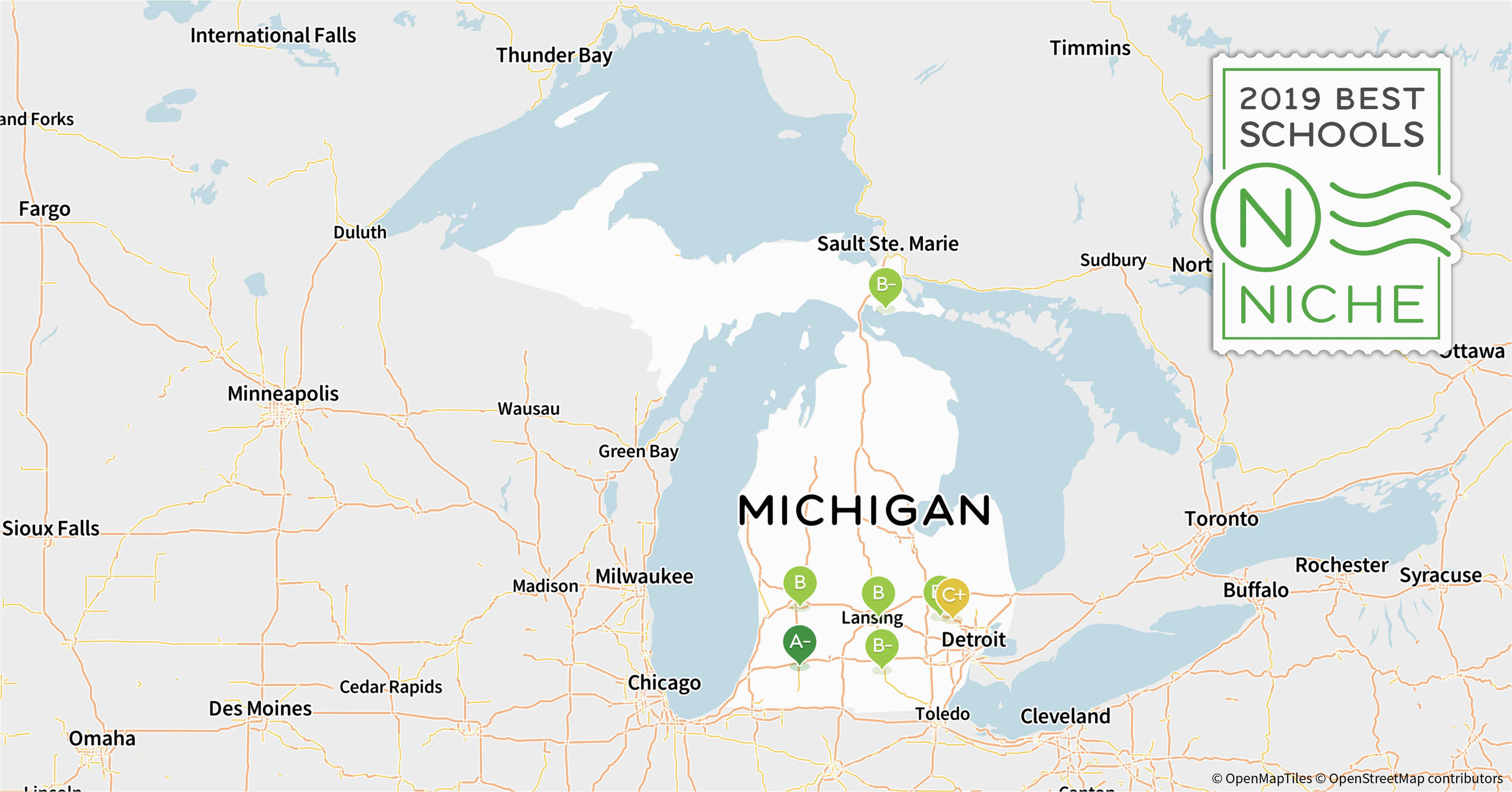 Where Is West Branch Michigan On A Map 2019 Best Online High