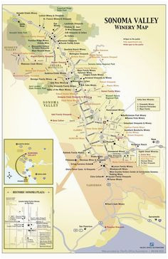 32 best napa valley images on pinterest california wine maps and