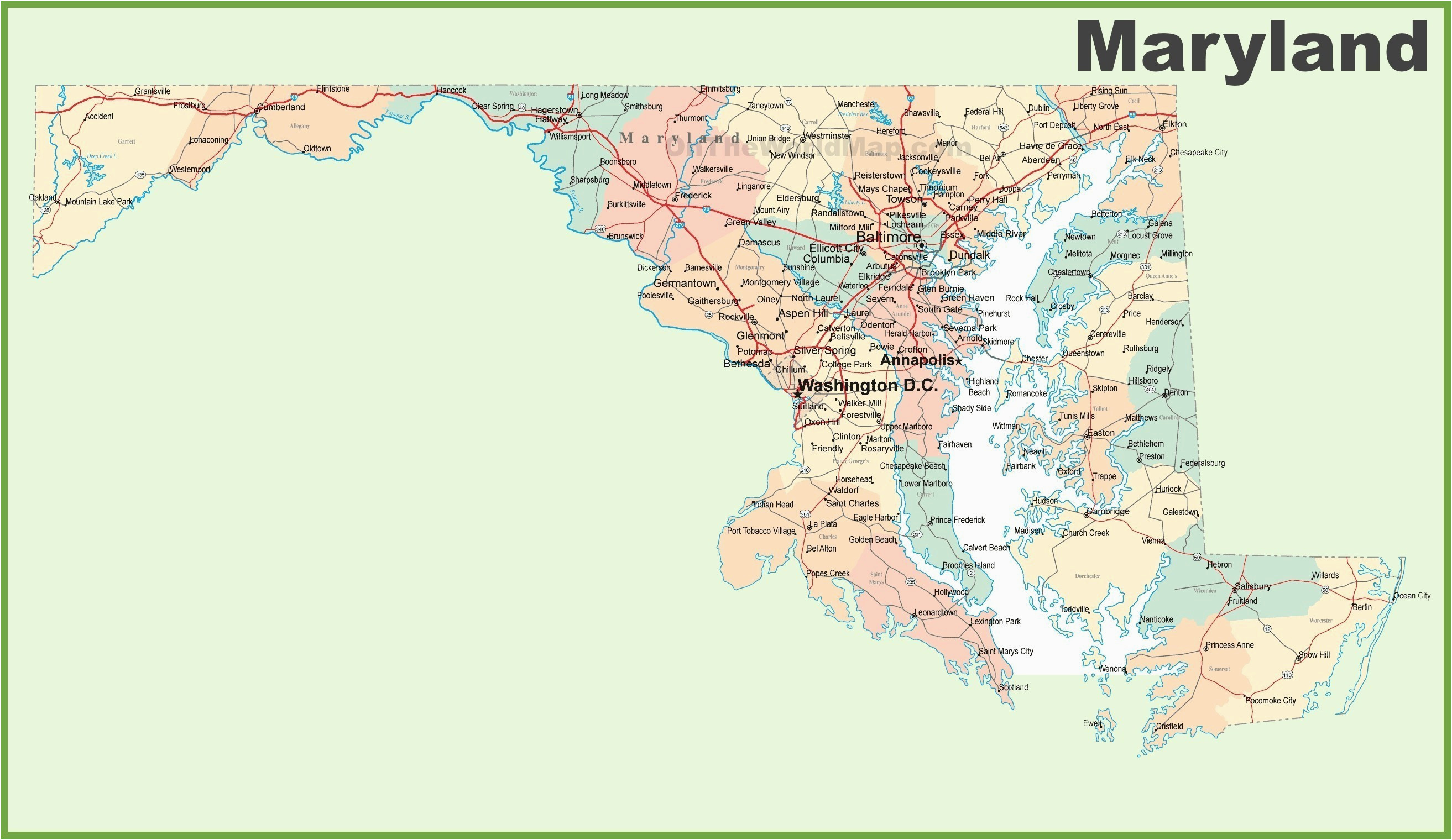Zip Code Map Of Montgomery Alabama Montgomery Alabama Us Map Best - Maryland-on-us-map