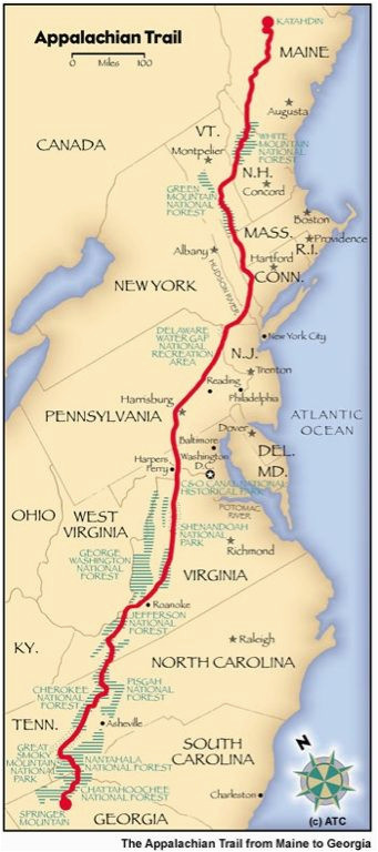 it starts with the first step appalachian trail been there