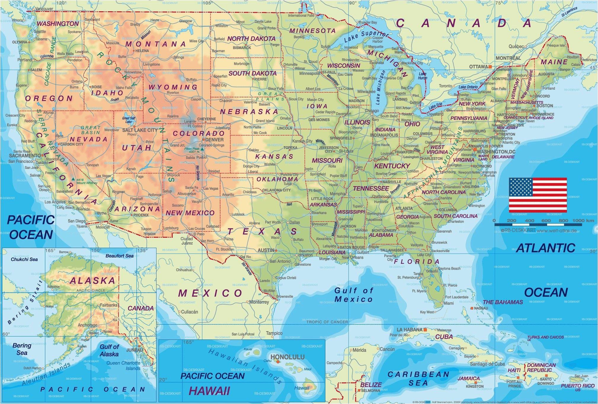 California Political Map on