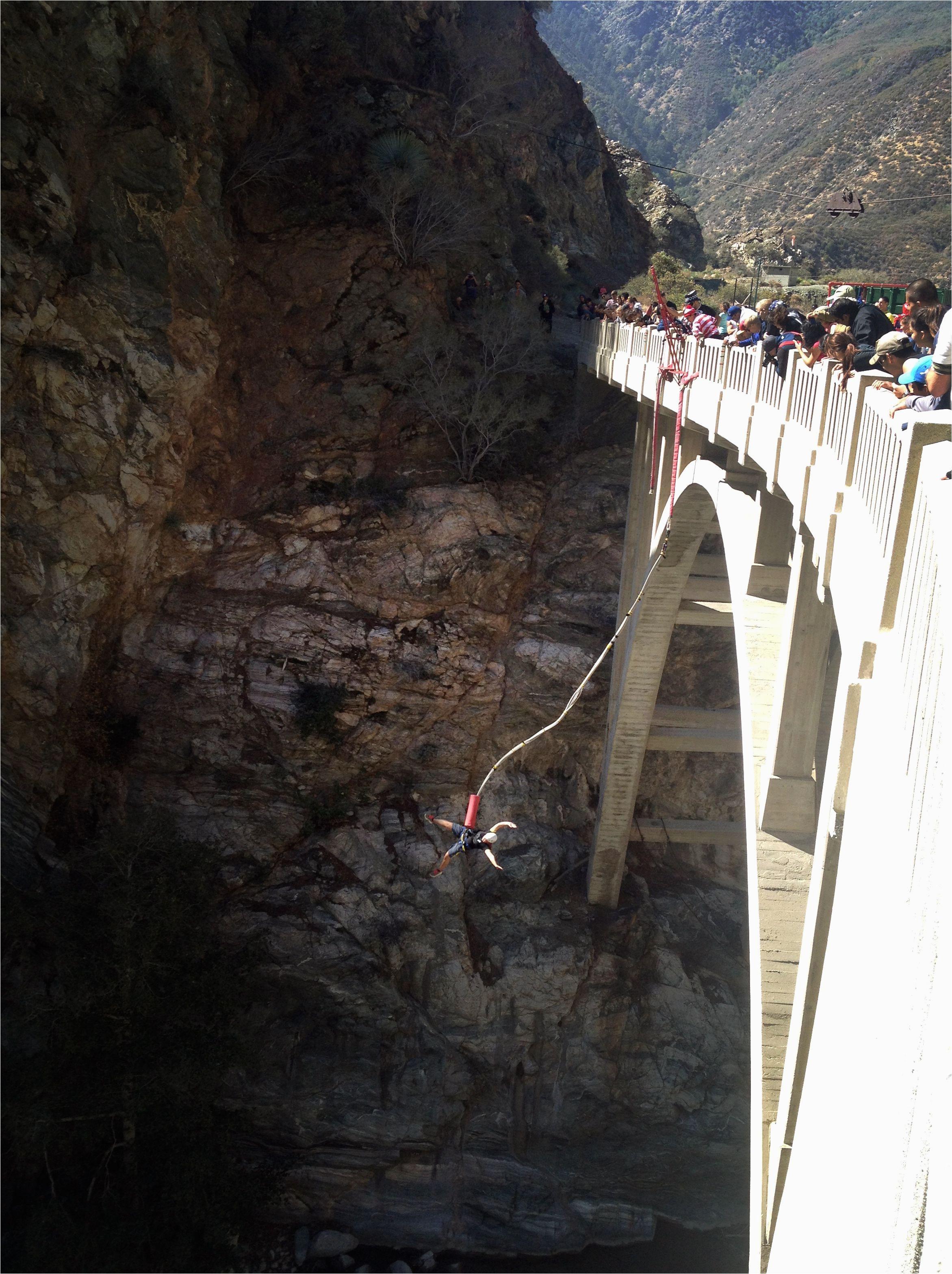bungee jumping bridge to nowhere san gabriel mountains azusa ca