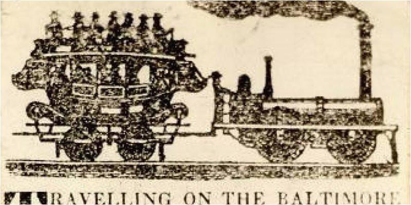 Baltimore and Ohio Railroad Map Baltimore and Ohio Railroad
