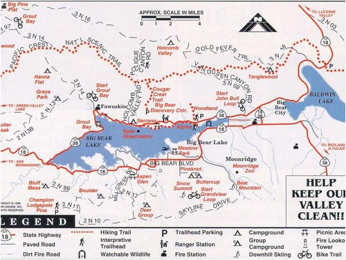 bear mountain trail map fresh snow summit big bear resort maps