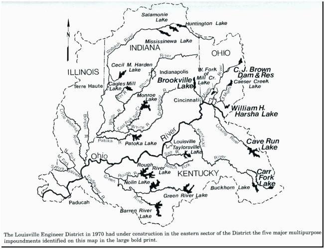 Ohio And Surrounding States Map.Brookville Ohio Map Secretmuseum