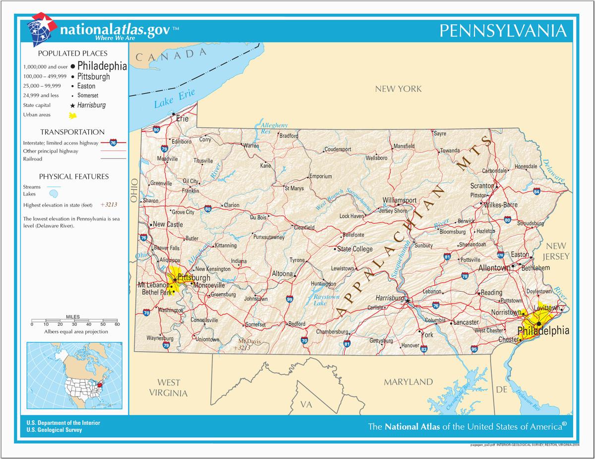 liste der orte in pennsylvania wikipedia