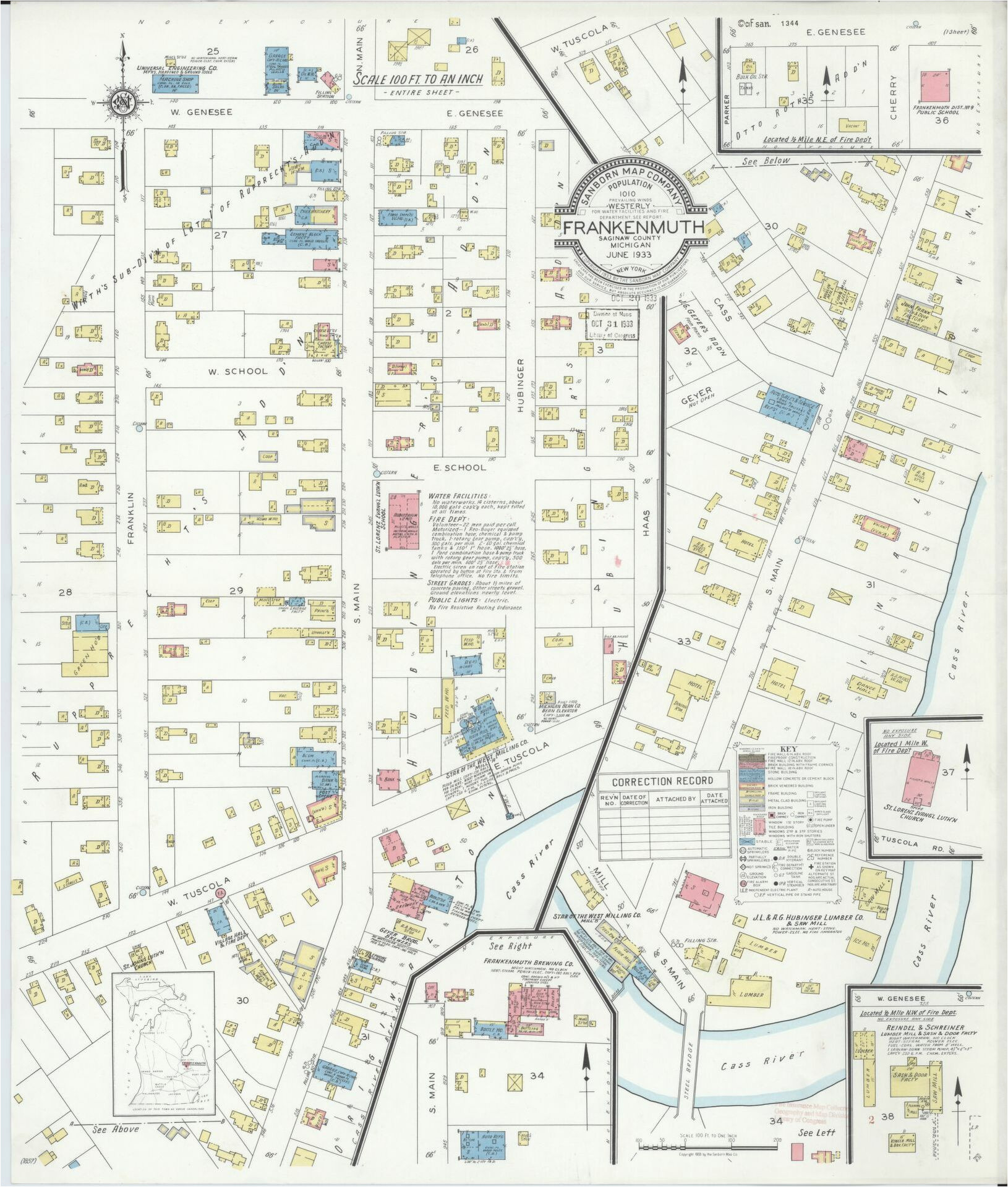 map 1900 to 1999 saginaw county library of congress
