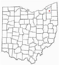 Burton Ohio Map Burton Ohio Wikipedia