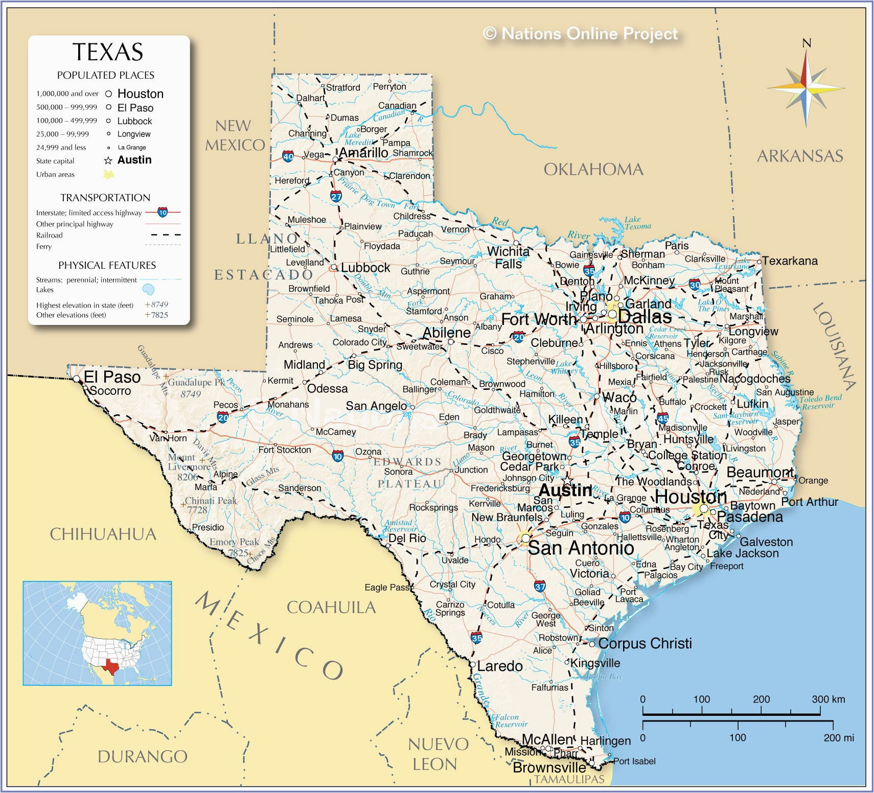 California Caves Map Amarillo Texas Map Map Od Texas Epic where is