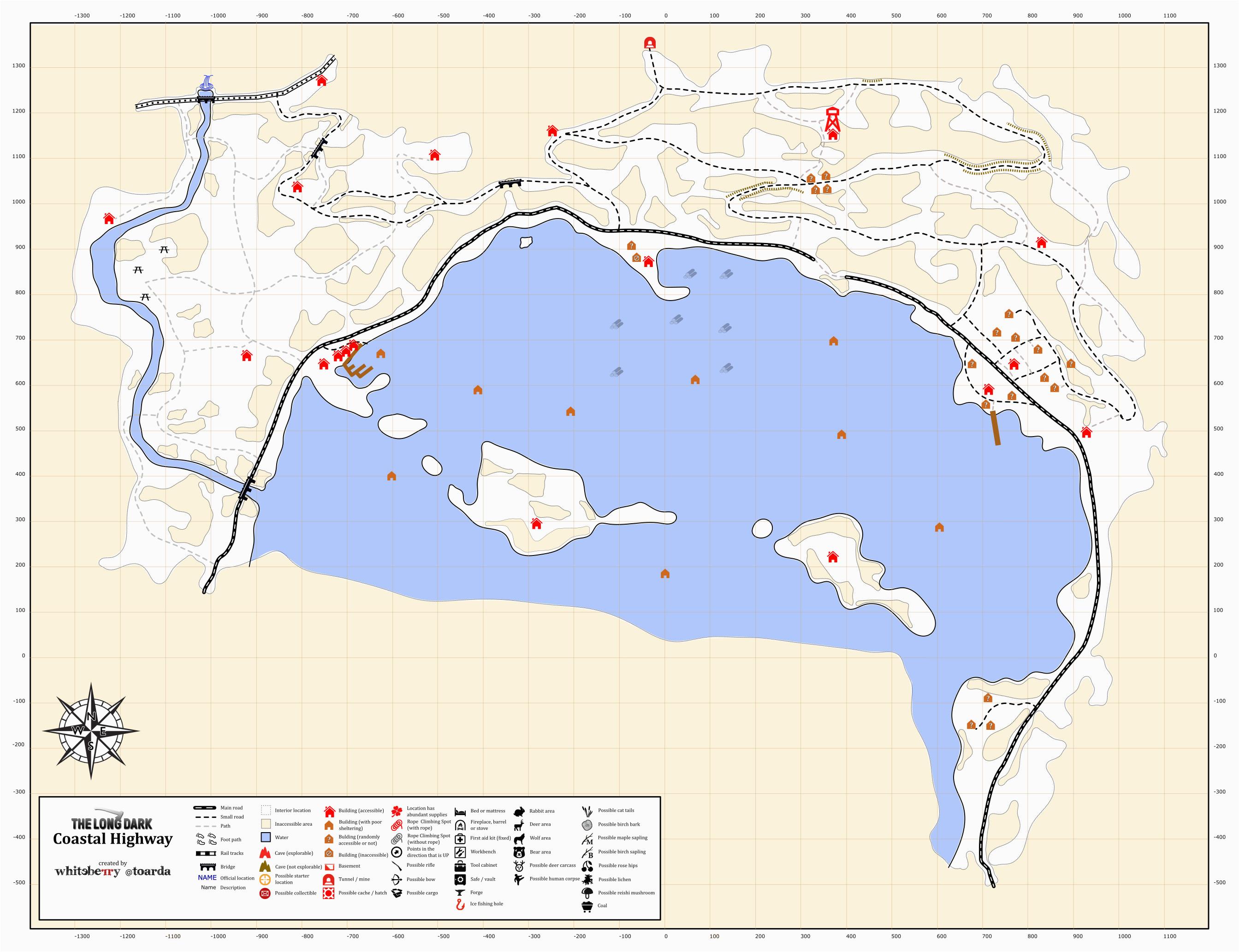 coastal highway map awesome california coast road trip map free