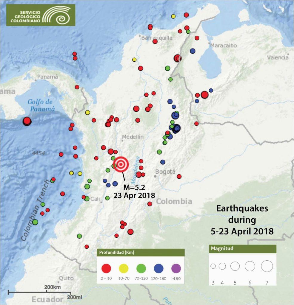 california earthquake today map massivegroove com