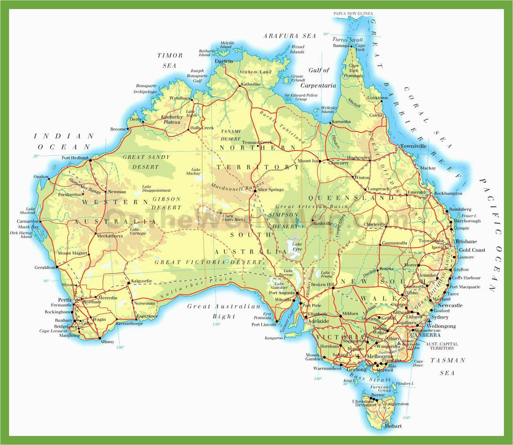 Map Of Australia Gold Rush.California Gold Rush Towns Map United States Landforms Map New