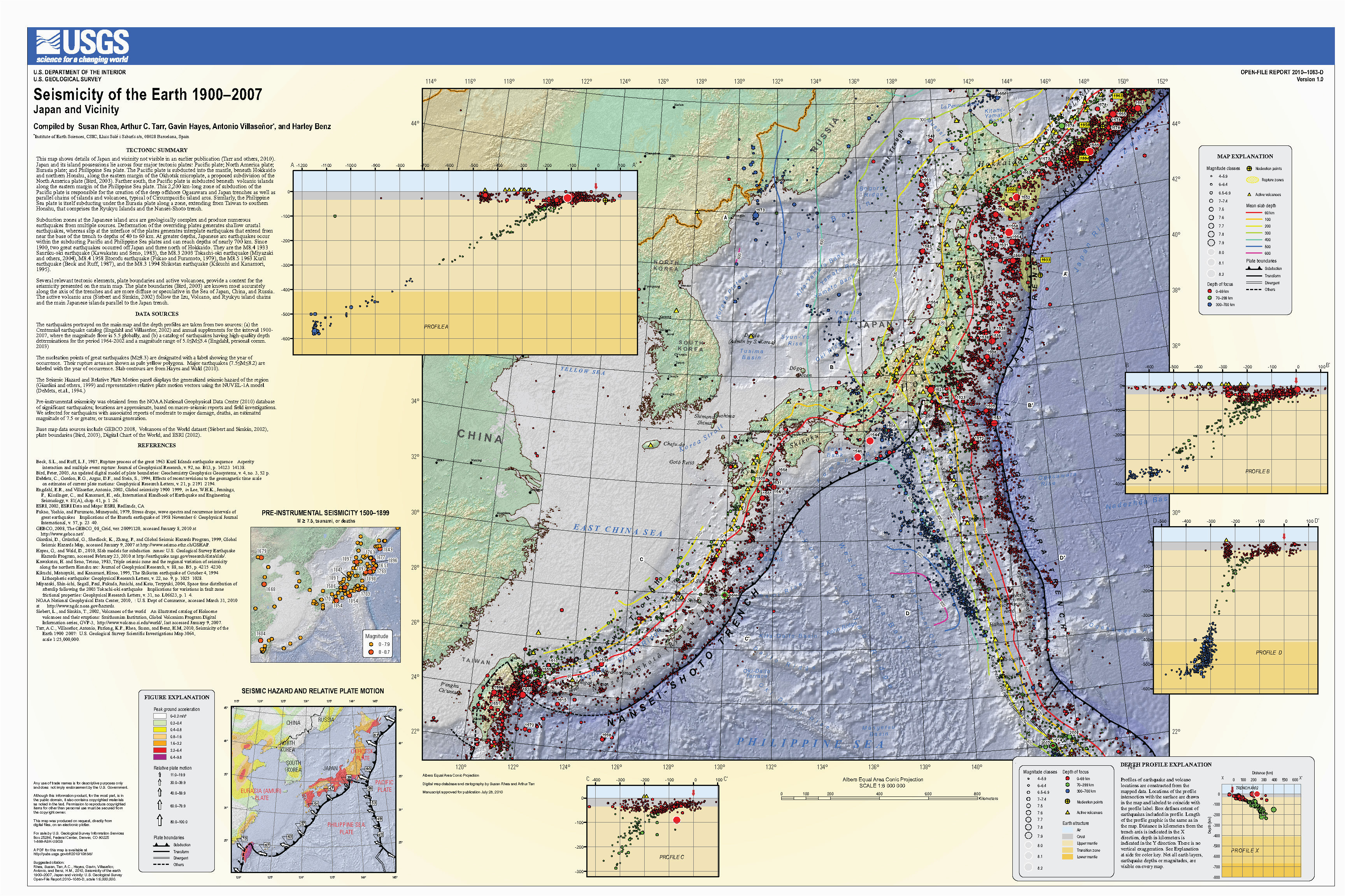 live earthquake map california reference hazards earthjay science