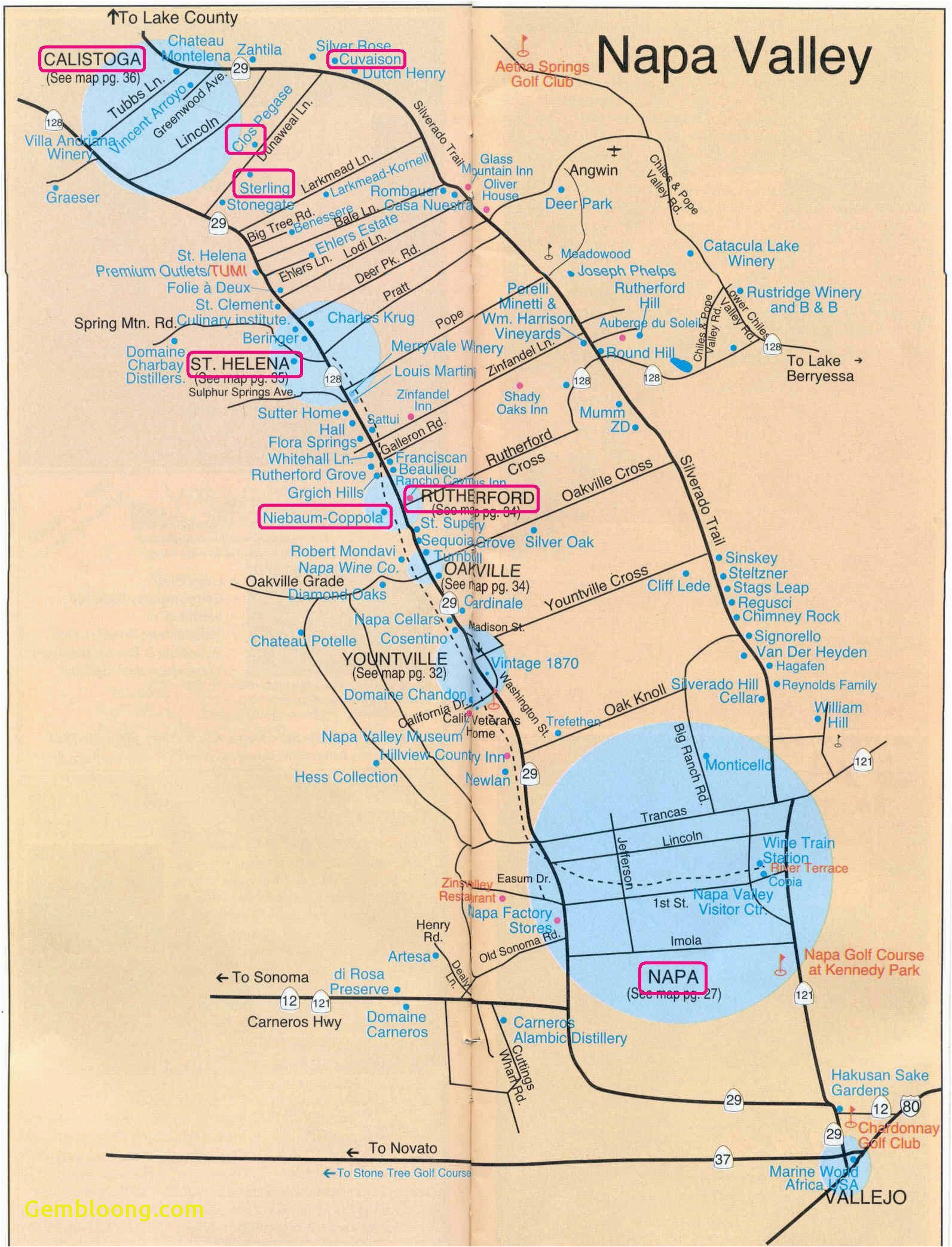 map crescent city california free printable map od california name