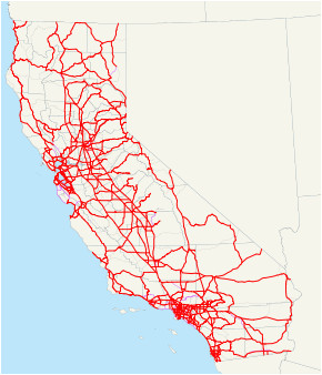list of interstate highways in california wikipedia