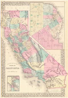 147 best map images california places to visit us travel