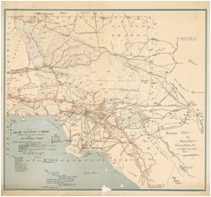 48 best los angeles maps images los angeles map maps california