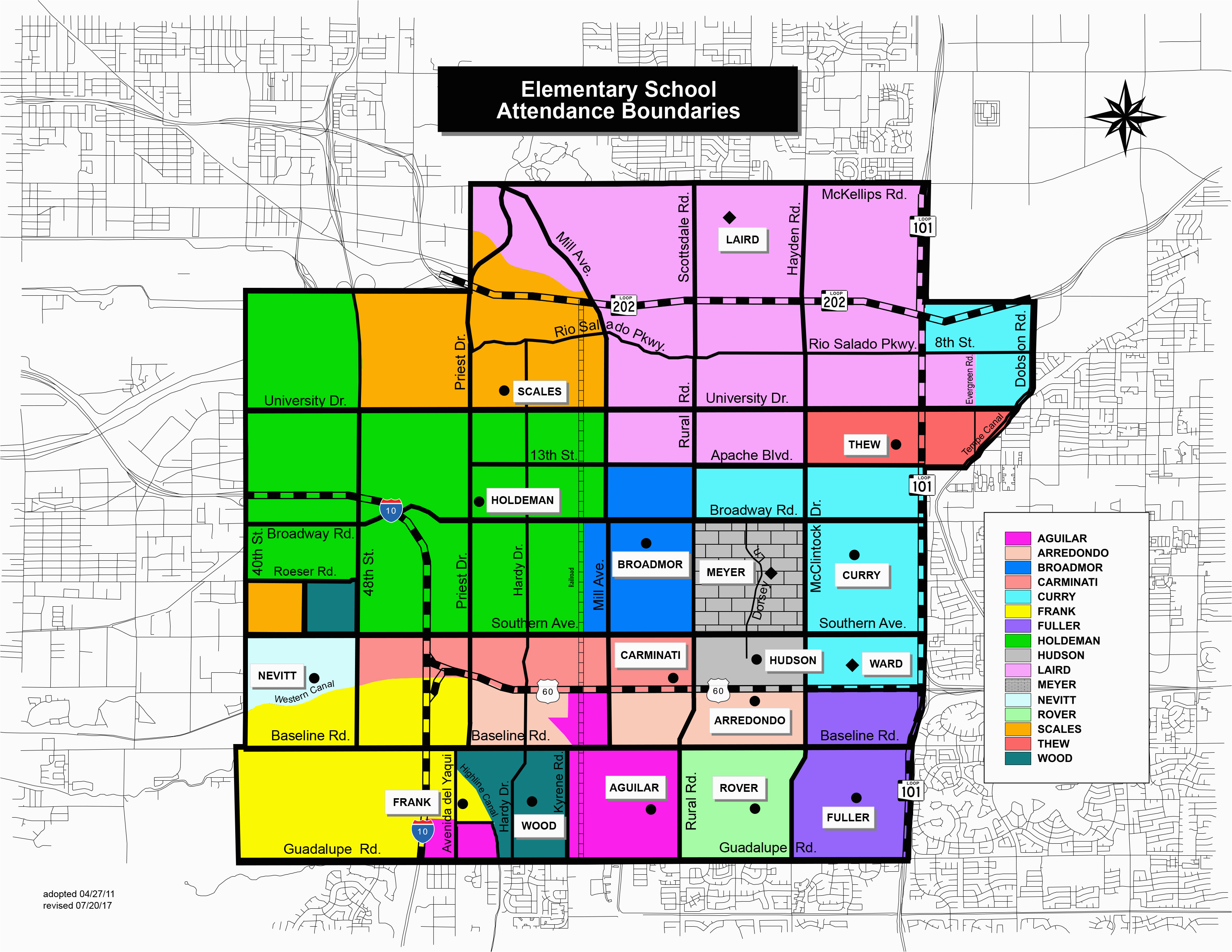 tempe schools boundary maps amy jones group