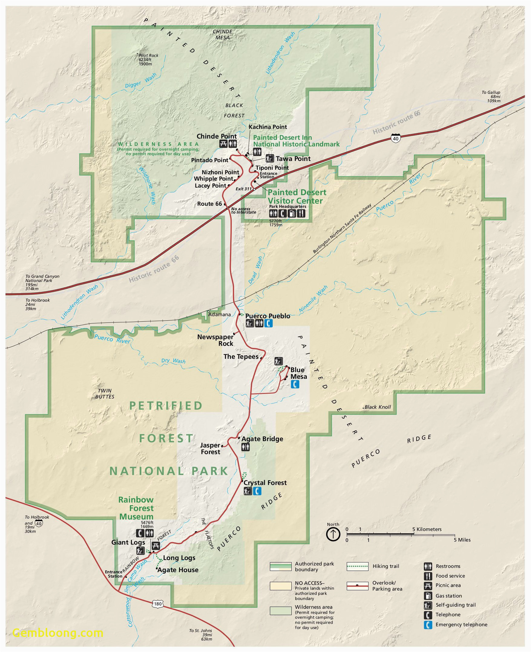 California State Park Camping Map National Parks Western Us ...