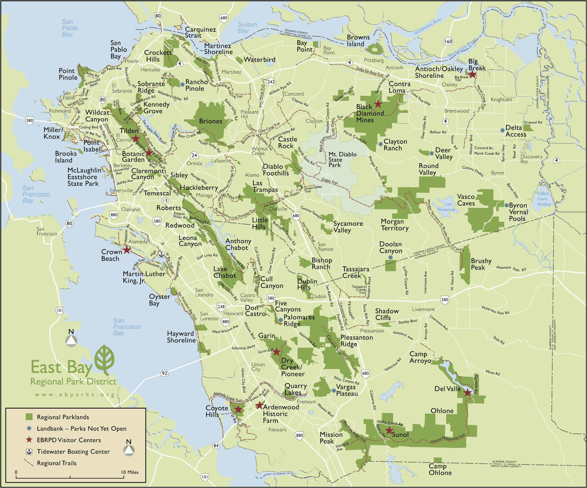 map san francisco bay area california outline map od california