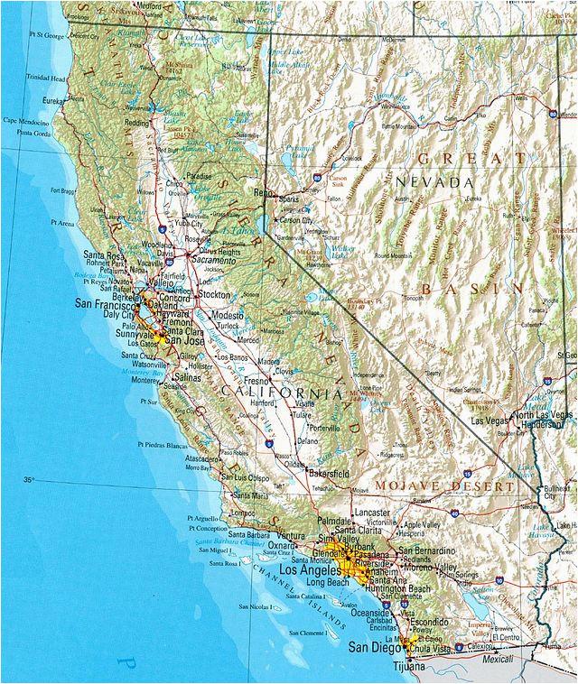 California Waterways Map Kalifornien Wikiwand