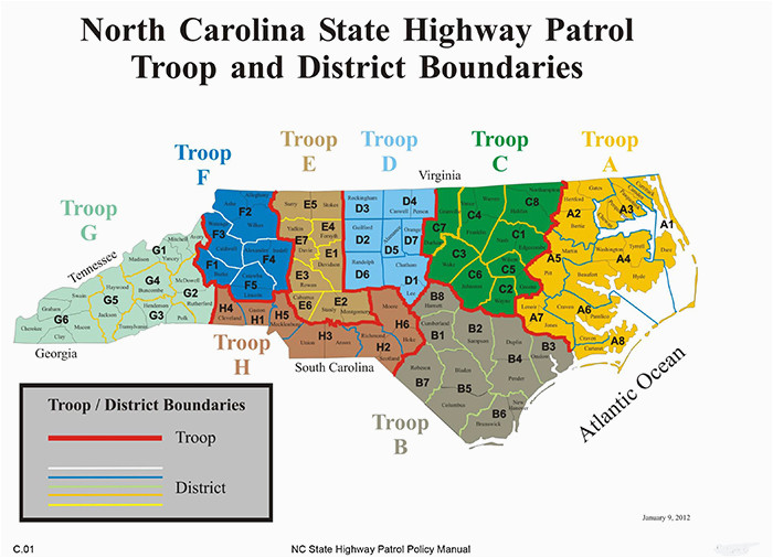 nc dps troop offices
