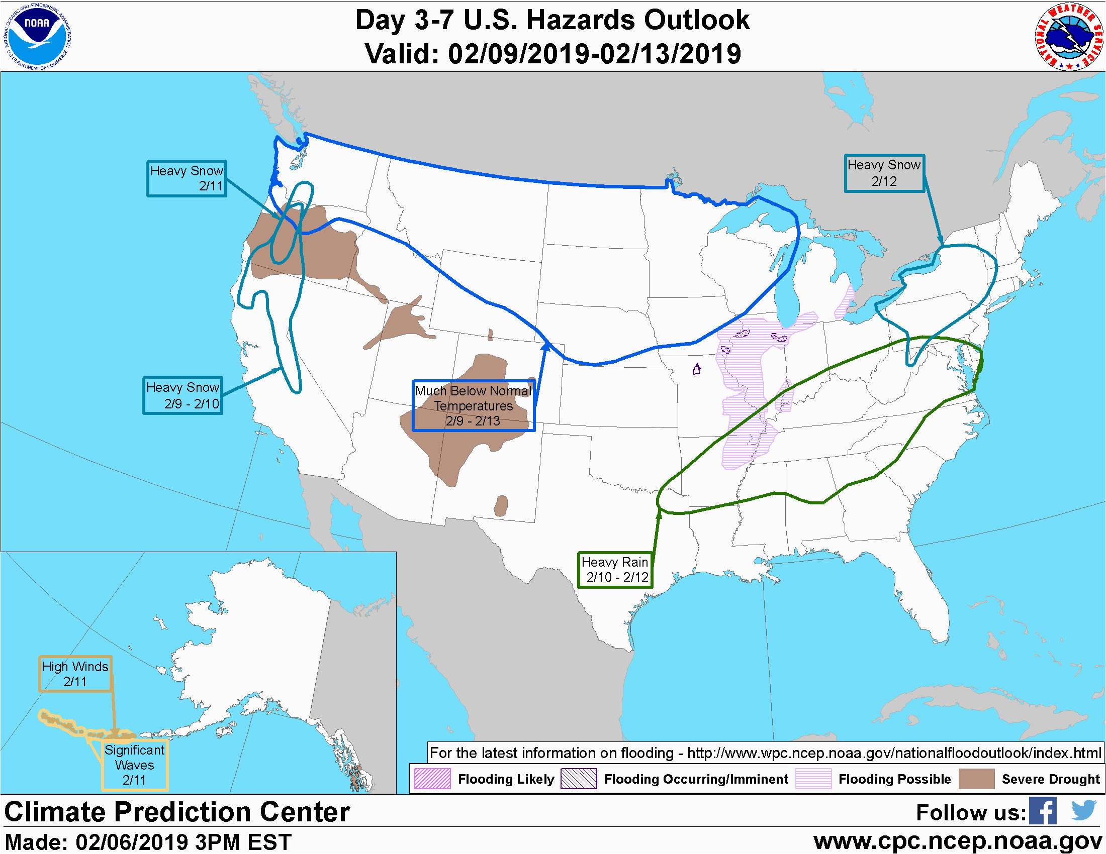 weather prediction center wpc home page