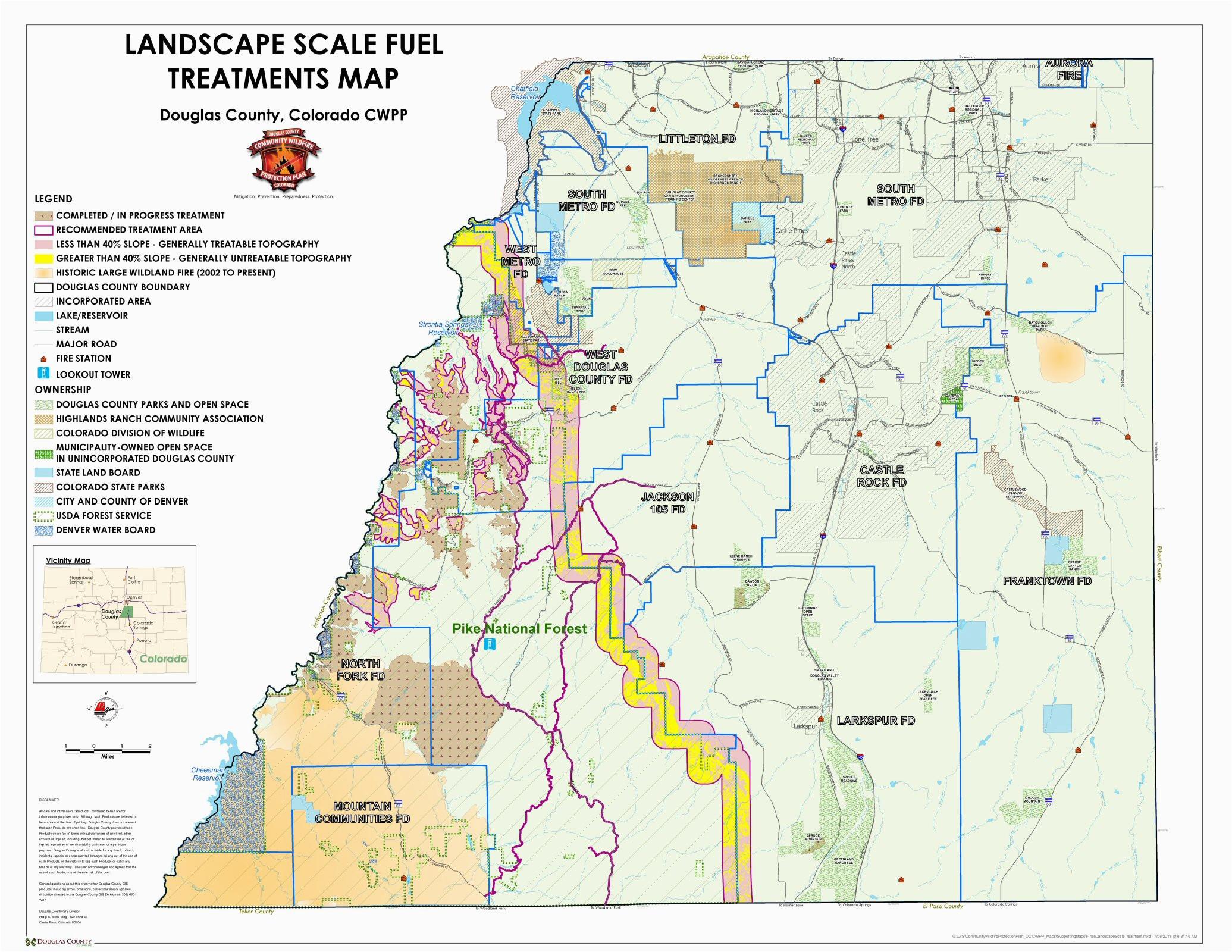 Castle Rock Colorado Map Maps Douglas County Government – secretmuseum