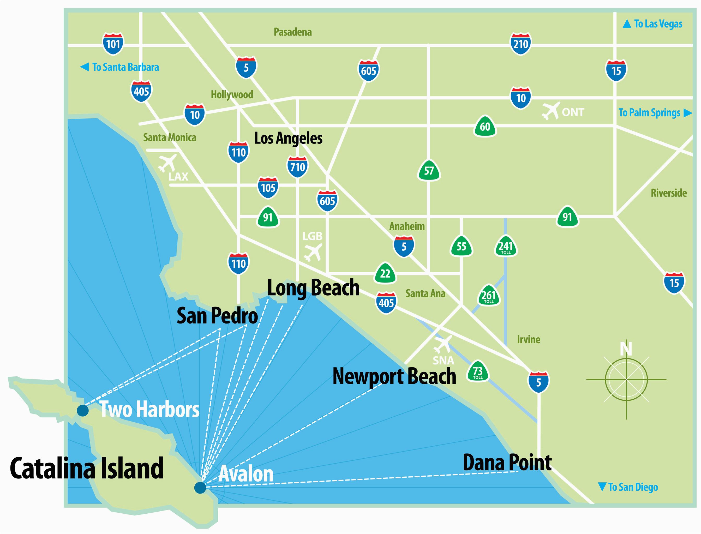 Catalina island Map California Catalina island Map California ... on