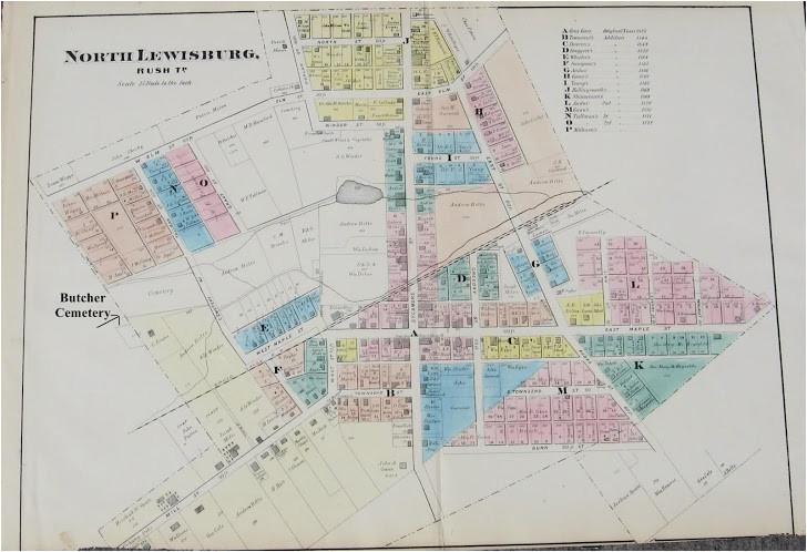 Champaign County Ohio Map | secretmuseum on
